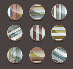 Vector wood background for the app icons