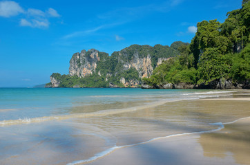 Beautiful Railay beach, Krabi, Thailand