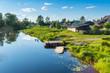 Summer riverside