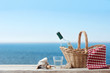 Picnic for one person at the sea - 67618258
