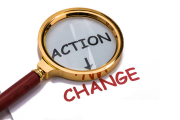 action and change