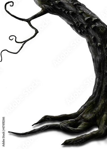 canvas print picture Tim Burton Baum