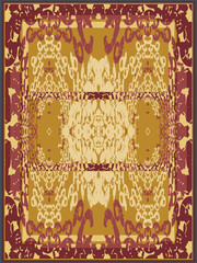 Abstract Carpet Design