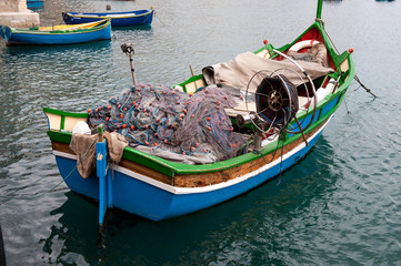 Traditional Maltese Boat