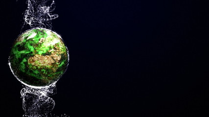 Earth Pollution Background