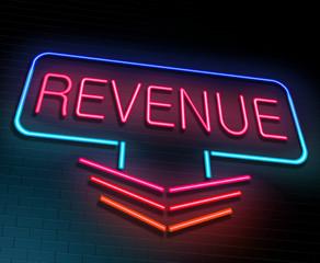 Revenue concept.
