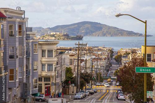 Aluminium San Francisco San Francisco Blick auf Alcatraz
