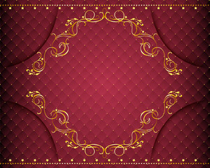 Ornamental retro background