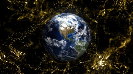 Earth in Particles