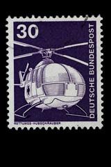 Briefmarke_Deutschland_Hubschrauber