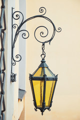 decorative wall street lamp