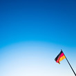 canvas print picture - Schland Flag