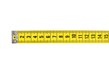 Tape Measure With CLIPPING PATH