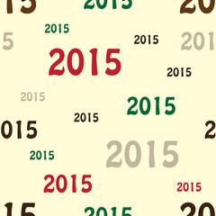 Seamless pattern - 2015