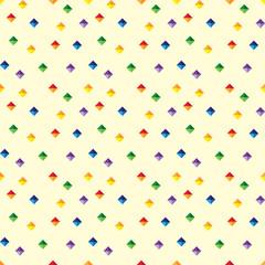 Seamless pattern - diamonds