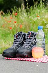 wandern mit picknick
