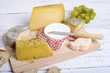 Постер, плакат: assortiment de fromages fran
