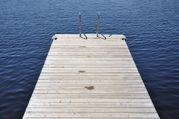 Swimming dock