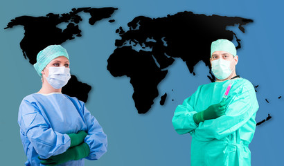 Medizin Global Arzt Ärztin