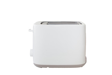 White Toaster in white Isolated background