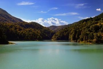 Lago di Verzegnis  italia