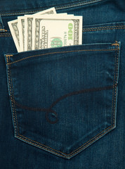 cash in pocket