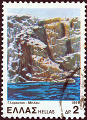 Glaronissia islets, Milos island (Greece 1979)