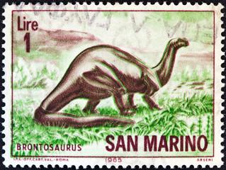 Brontosaurus (San Marino 1965)