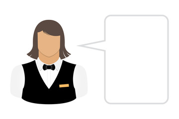 bartender waiter, avatars and user icons