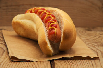 Tasty hot dog