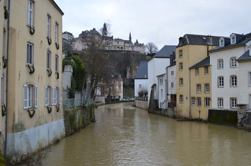 River on Luxembourg City