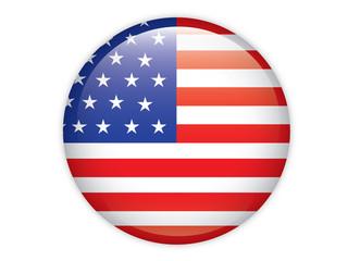 Circle USA Flag
