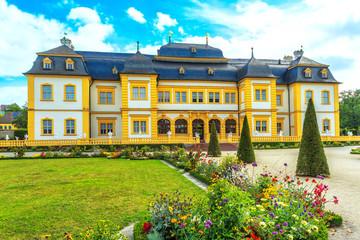 Schloss Veitshöchheim mit  Rokokogarten, nahe Würzburg