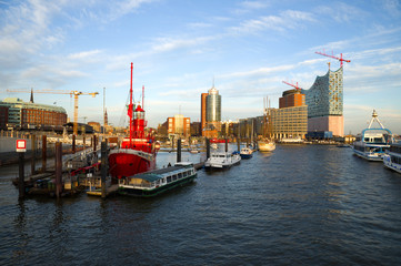 Hafen in Hamburg