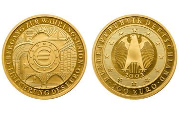 100 Euro Währungsunion