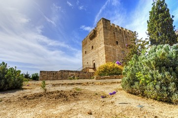 Medieval castle of Kolossi, Limassol, Cyprus