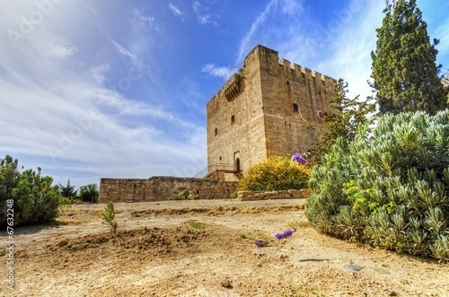 Medieval castle of Kolossi, Limassol, Cyprus Poster