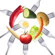 Ausgewogene vegetarische Ernährung