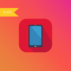 vector flat design smart phone icon element