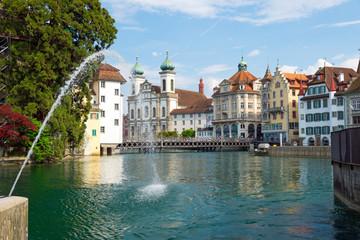 Springbrunnen in Luzern