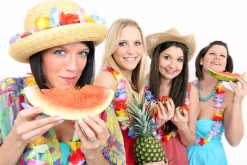 Frisches Obst essen