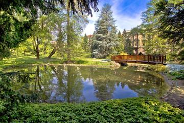 Zagreb botanical garden city oasis