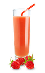 wild strawberry juice