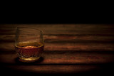 Whiskey in Cracked Glass