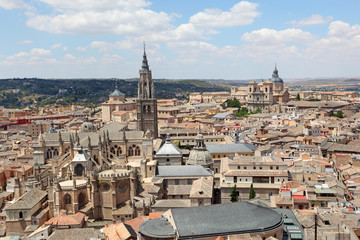 The old town of Toledo, Castilla-La Mancha, Spain