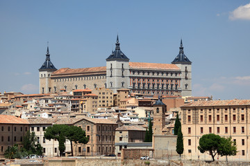 The Alcazar of Toledo, Castilla-La Mancha, Spain
