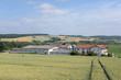 canvas print picture - Bauernhof im Odenwald