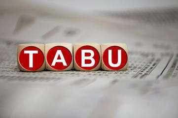 Würfel mit Tabu