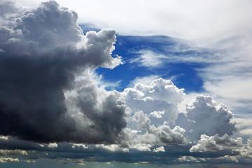 Gewitterwolken & Federwolken