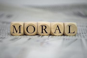 Würfel mit Moral